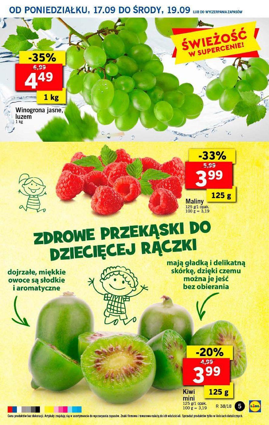 Gazetka promocyjna Lidl do 19/09/2018 str.5