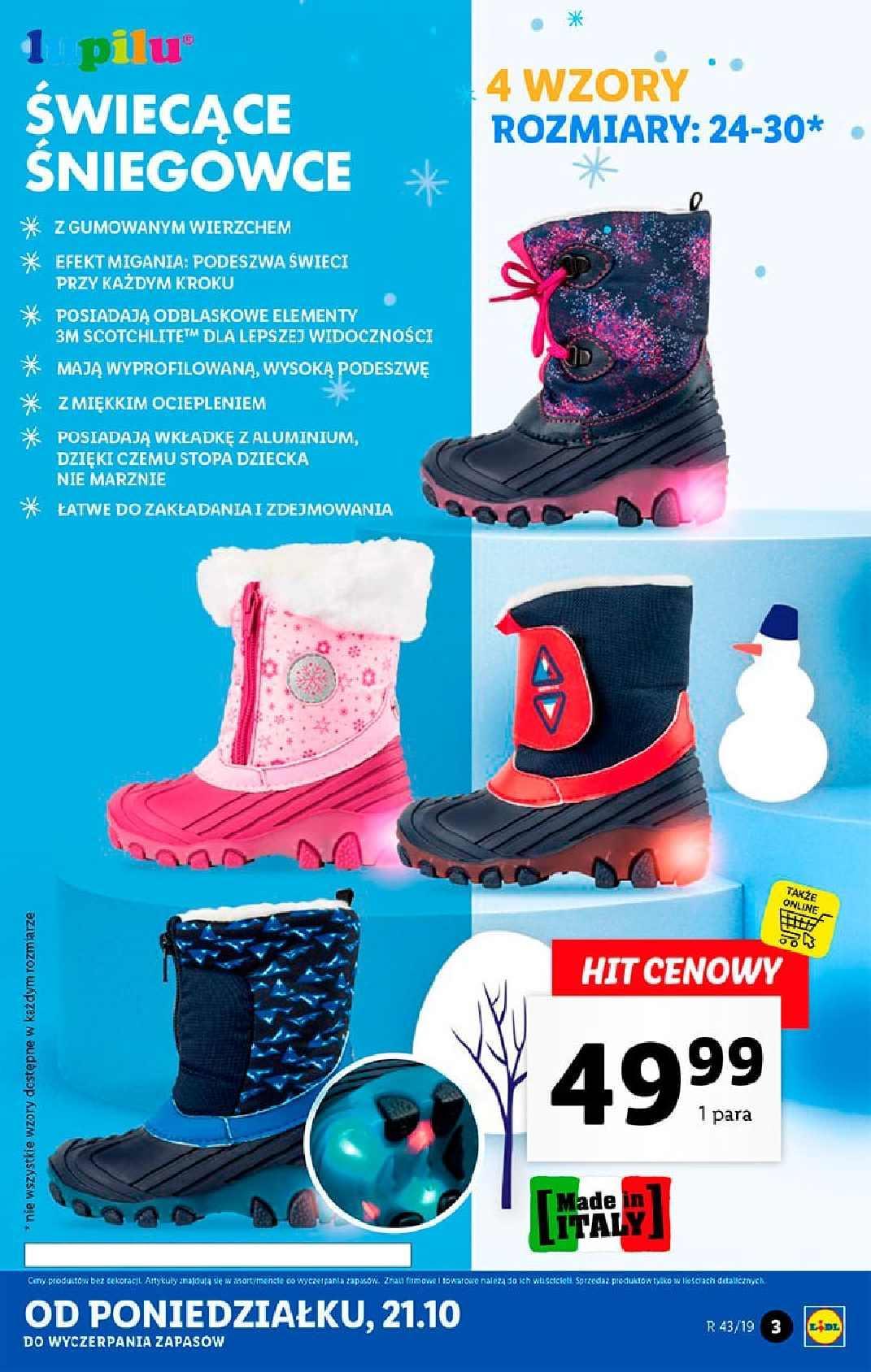 Gazetka promocyjna Lidl do 27/10/2019 str.3