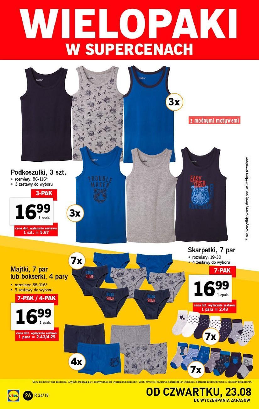Gazetka promocyjna Lidl do 26/08/2018 str.25