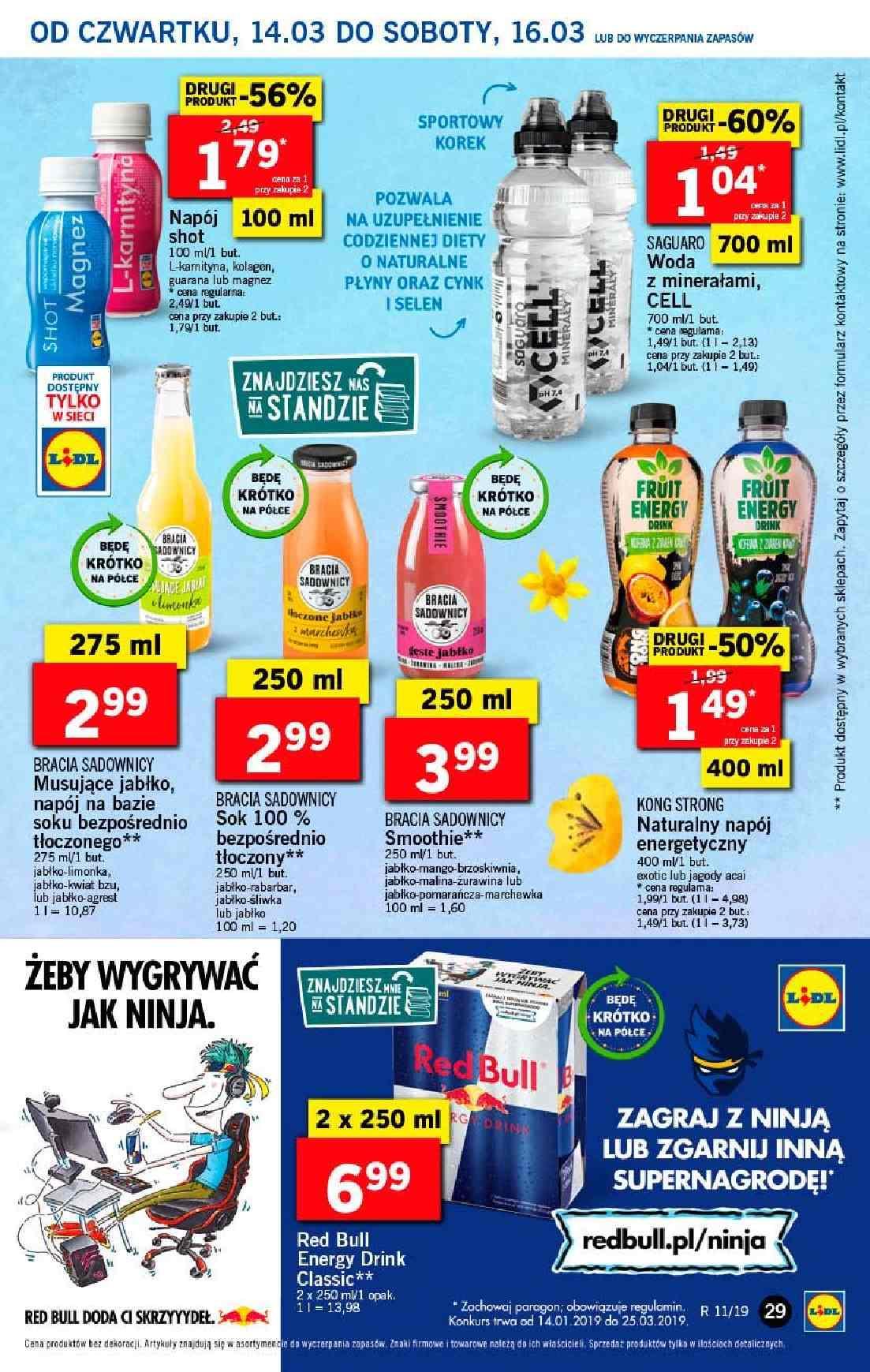 Gazetka promocyjna Lidl do 17/03/2019 str.29