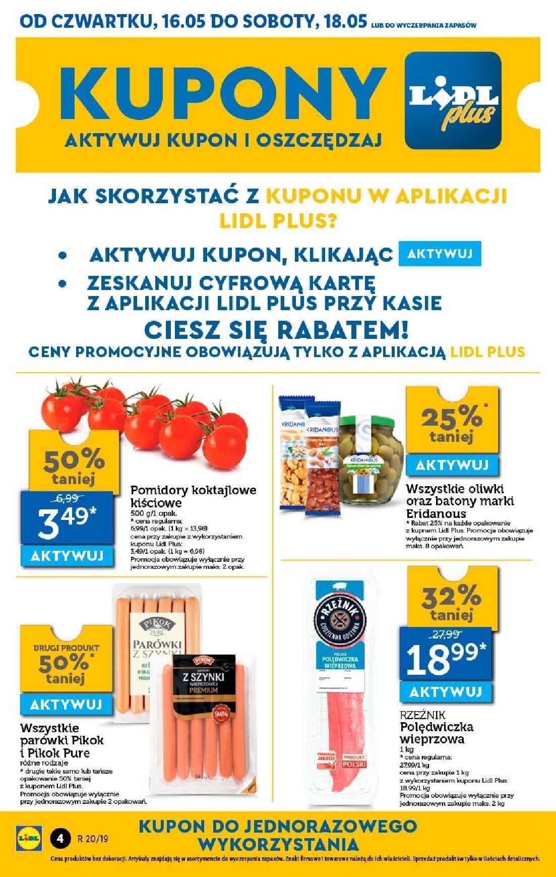 Gazetka promocyjna Lidl do 19/05/2019 str.4