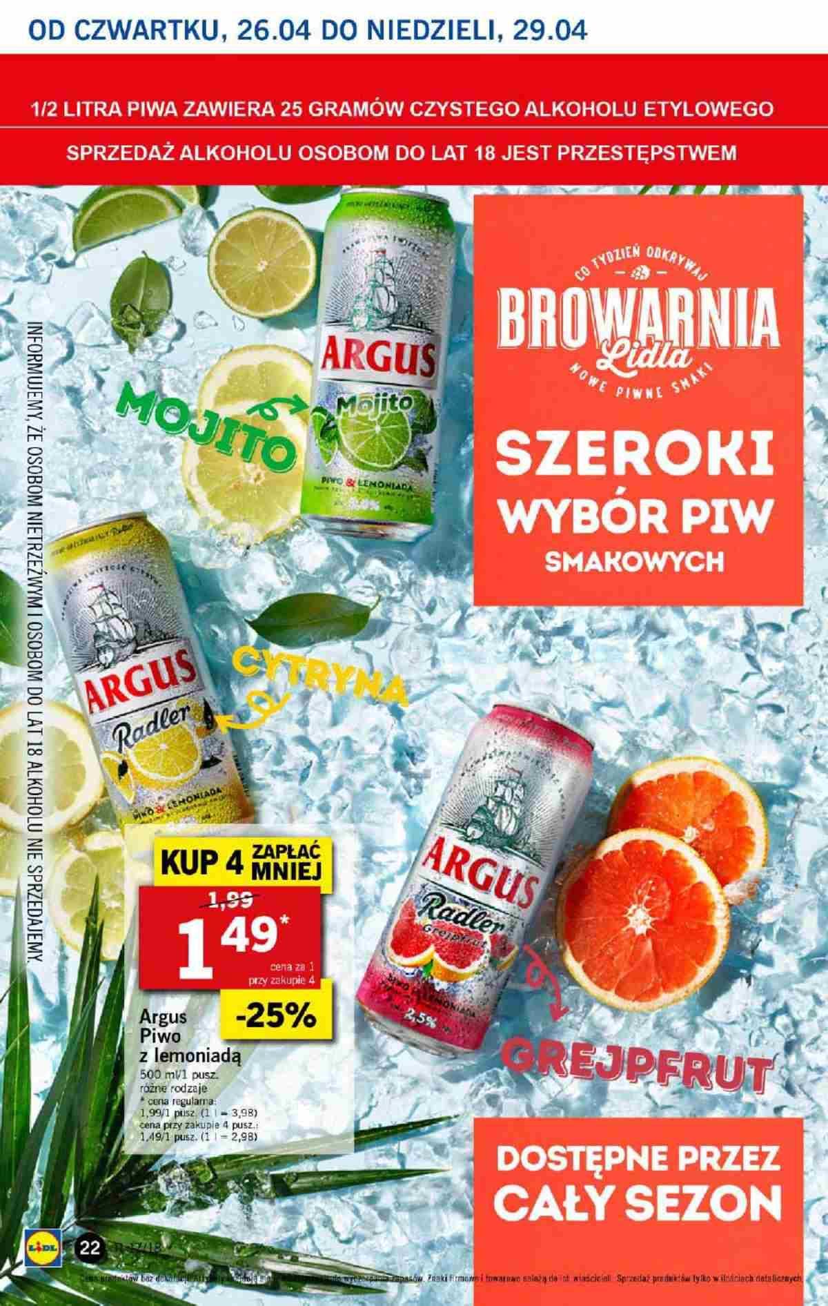 Gazetka promocyjna Lidl do 29/04/2018 str.21