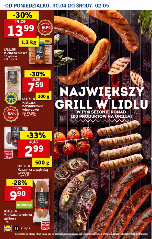 Gazetka promocyjna Lidl do 02/05/2018 str.11