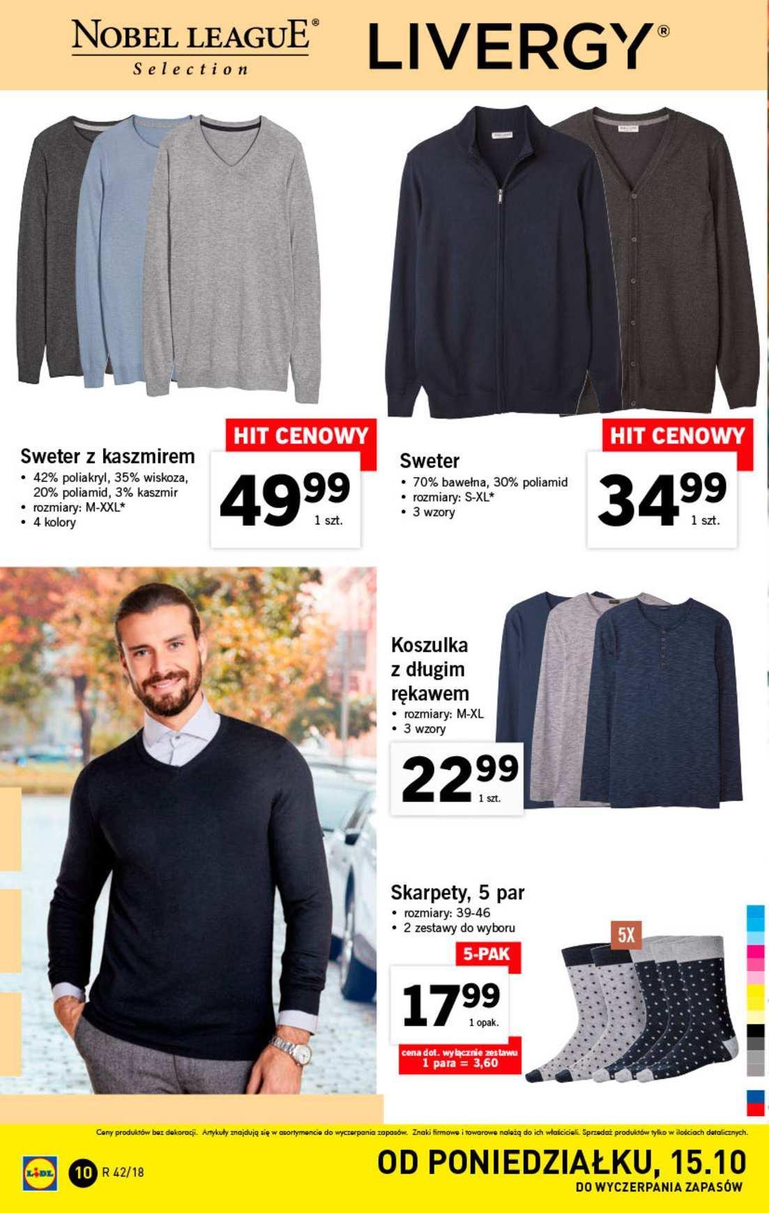 Gazetka promocyjna Lidl do 20/10/2018 str.10