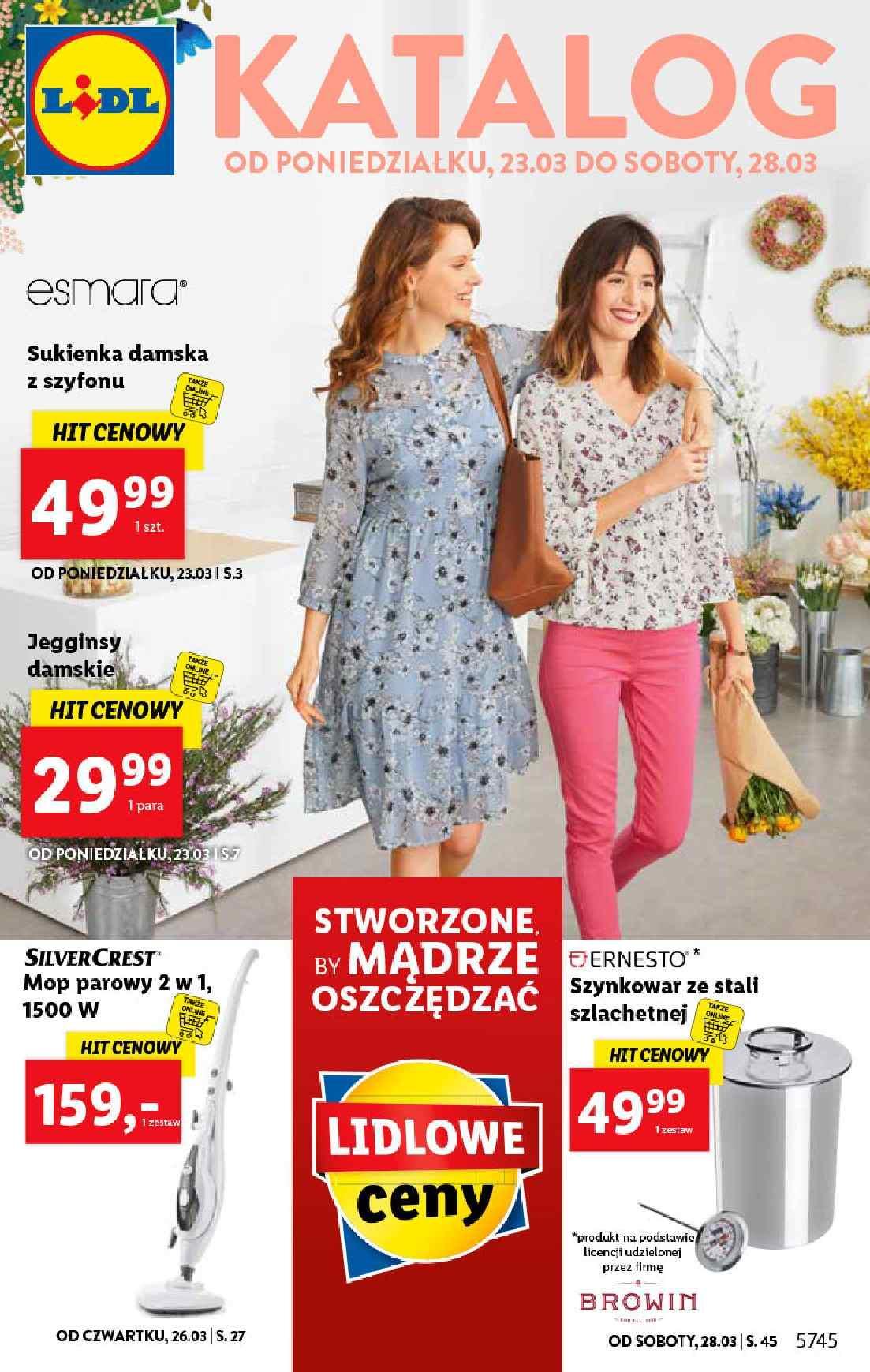 Gazetka promocyjna Lidl do 28/03/2020 str.1