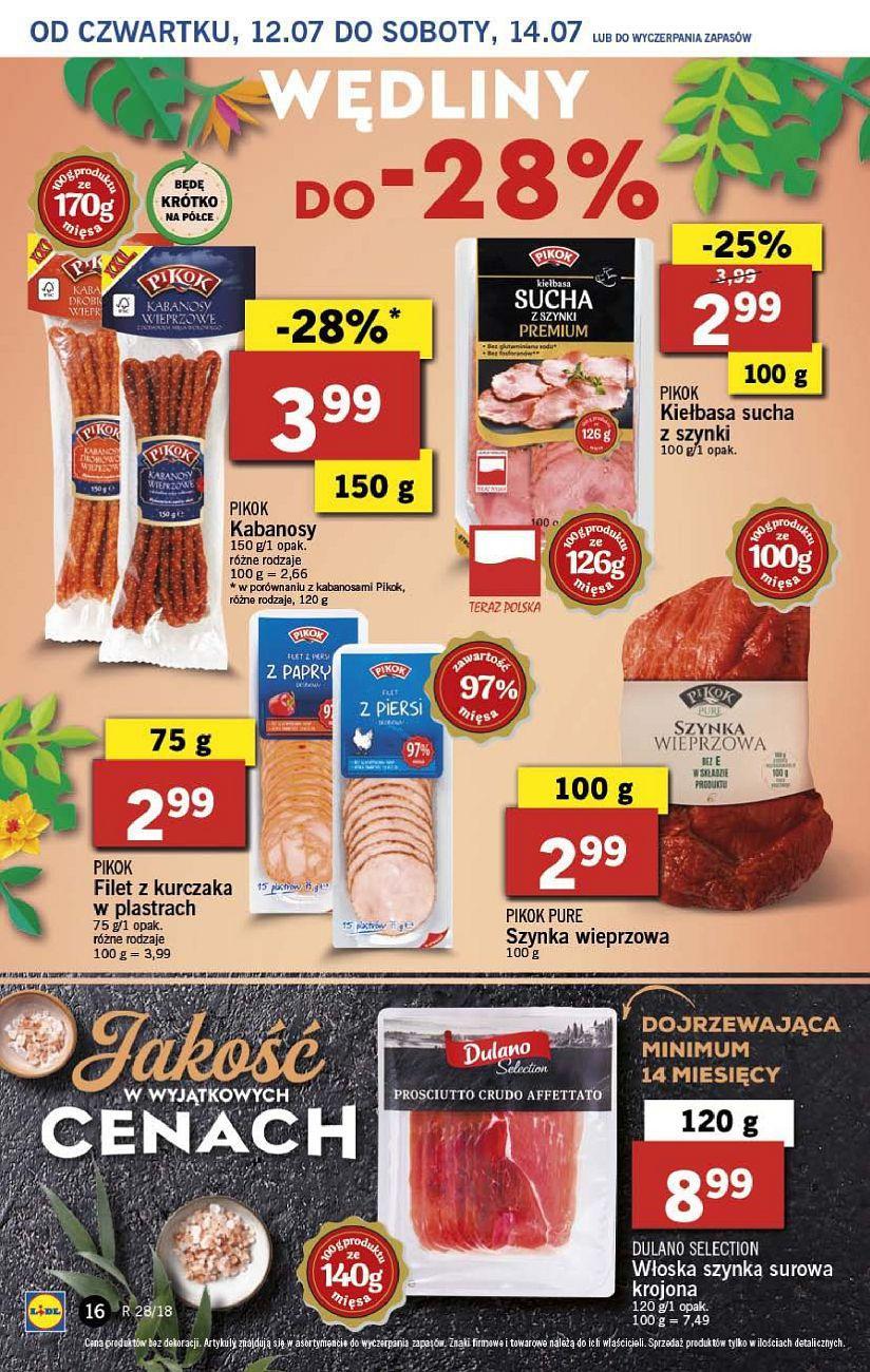 Gazetka promocyjna Lidl do 14/07/2018 str.16