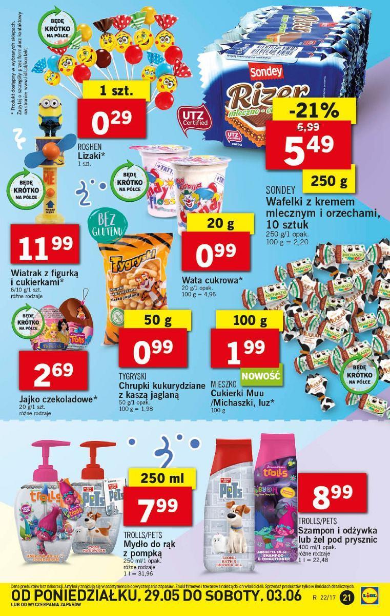 Gazetka promocyjna Lidl do 31/05/2017 str.20