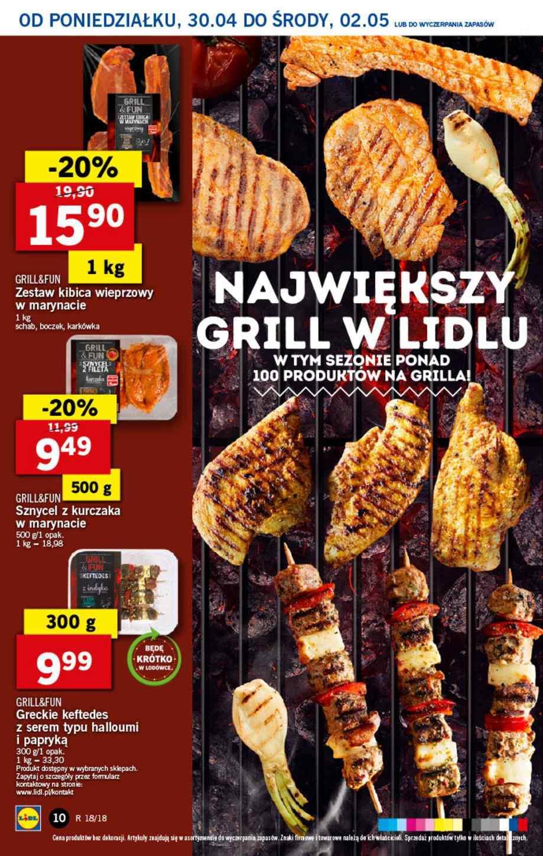 Gazetka promocyjna Lidl do 02/05/2018 str.9