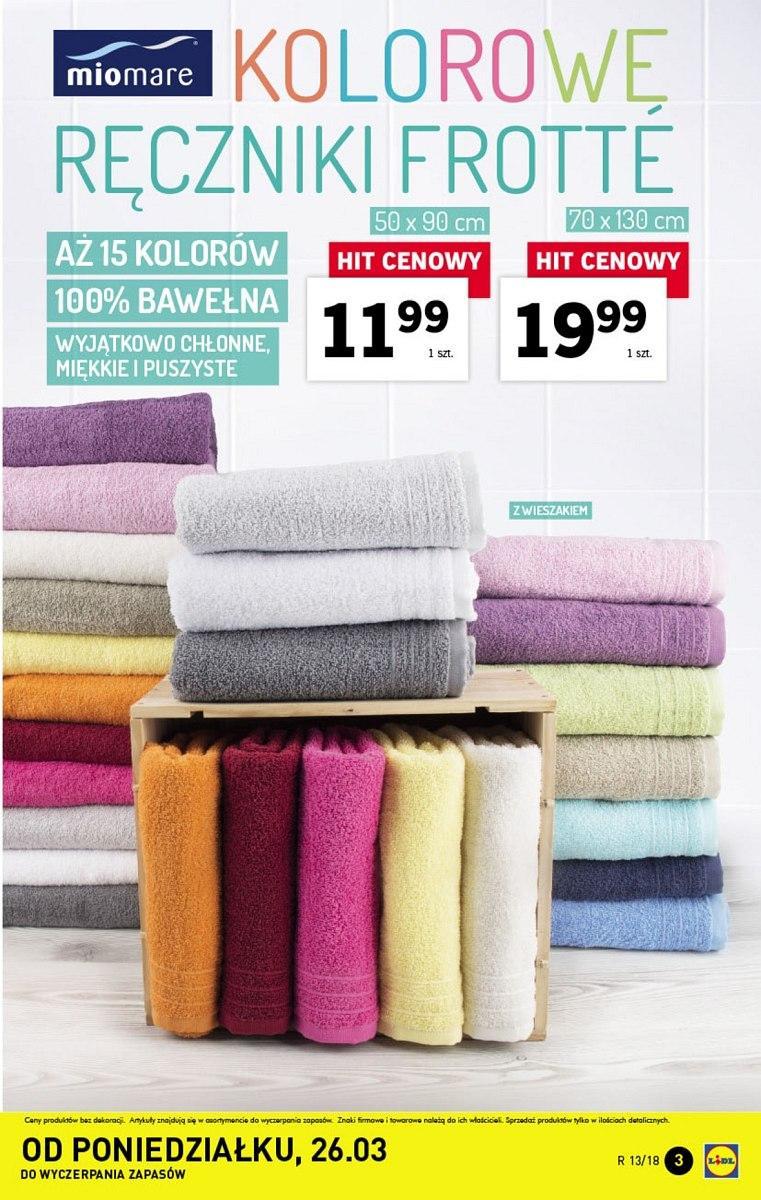 Gazetka Promocyjna I Reklamowa Lidl Lidl 26 Marca Od 26032018