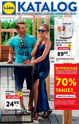 Lidl gazetka - od 22/07/2019 do 28/07/2019