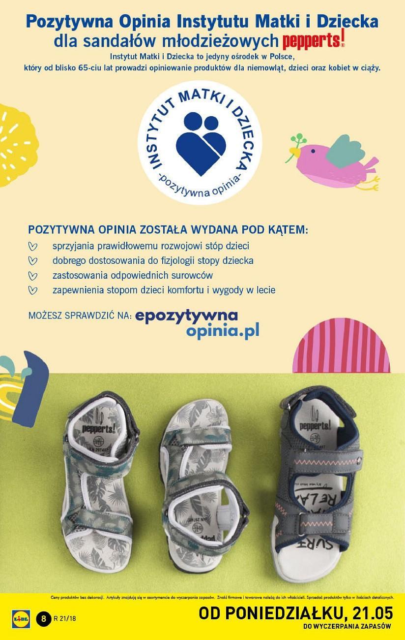 Gazetka promocyjna Lidl do 27/05/2018 str.8