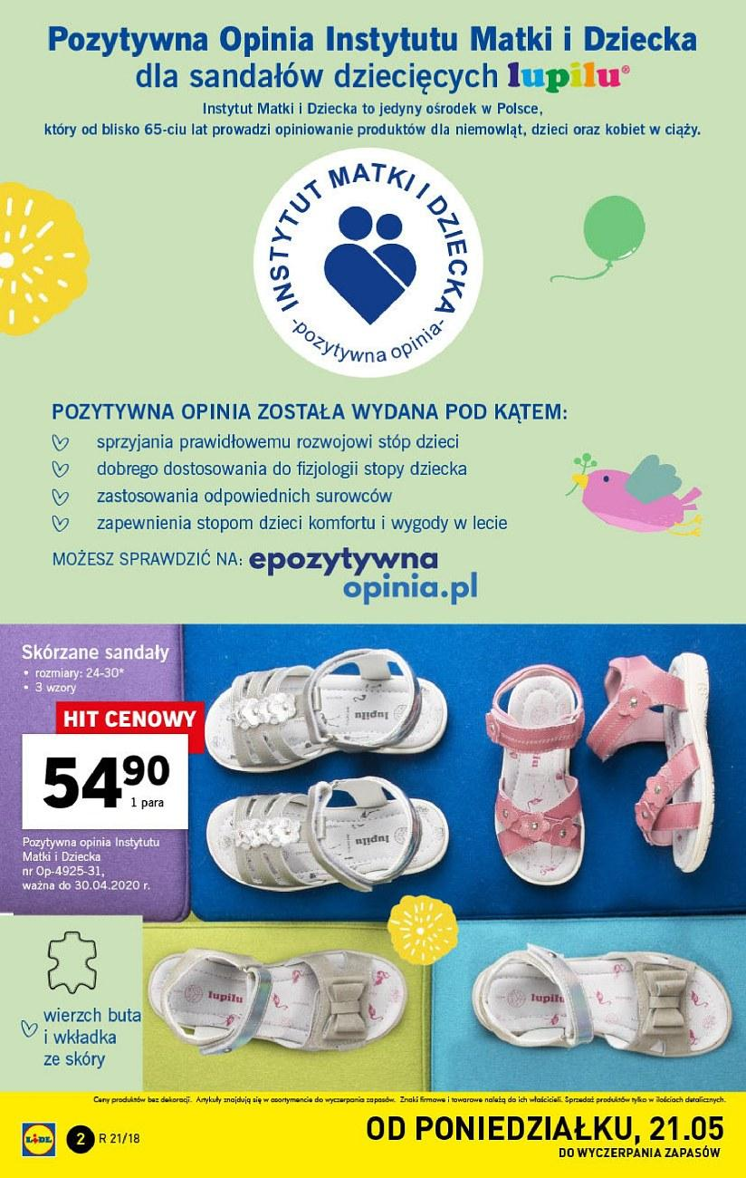 Gazetka promocyjna Lidl do 27/05/2018 str.2