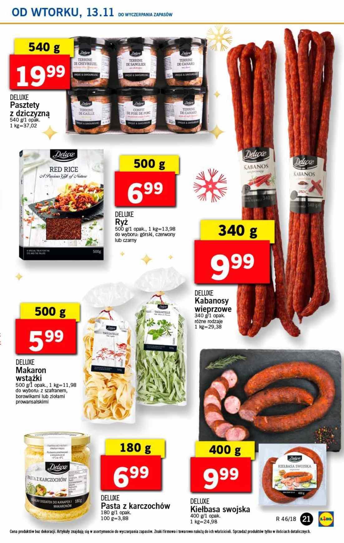 Gazetka promocyjna Lidl do 14/11/2018 str.21