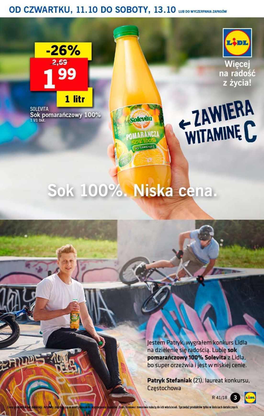 Gazetka promocyjna Lidl do 13/10/2018 str.3