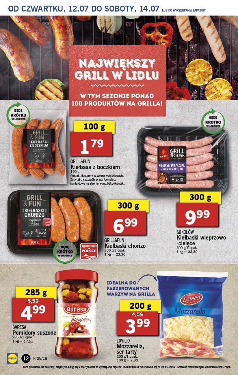 Gazetka promocyjna Lidl do 14/07/2018 str.11