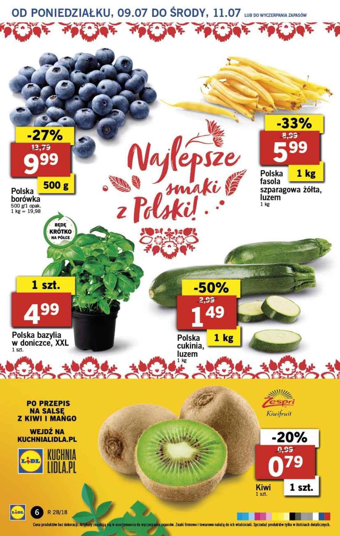 Gazetka promocyjna Lidl do 11/07/2018 str.5