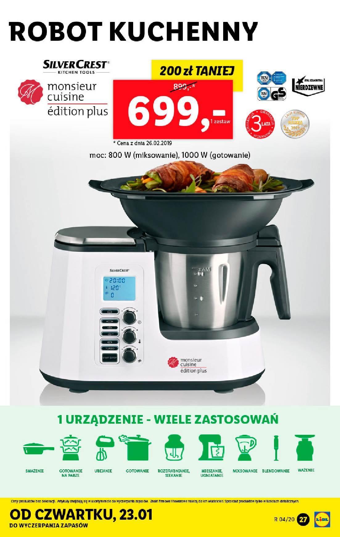 Gazetka promocyjna Lidl do 26/01/2020 str.27