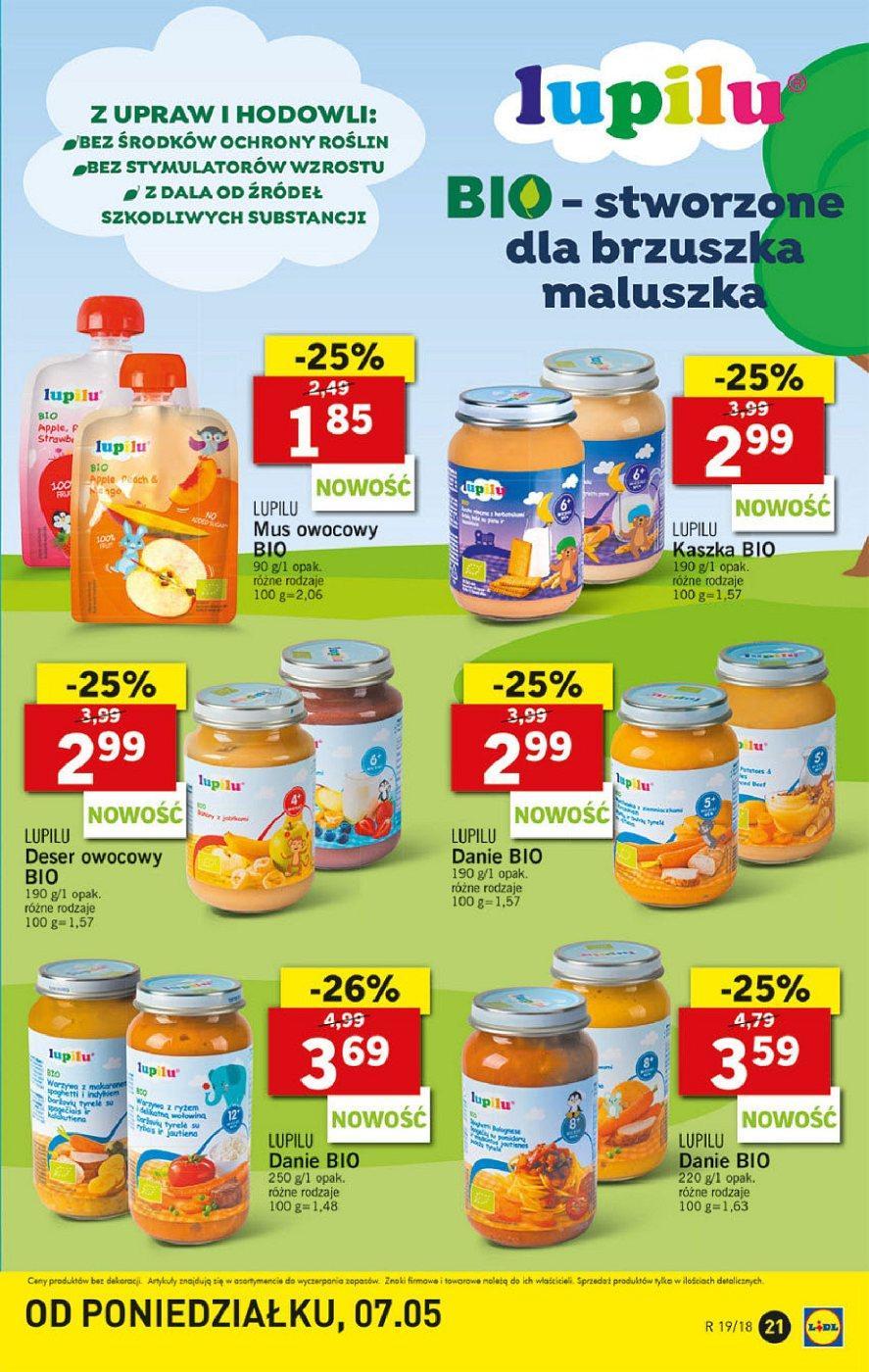 Gazetka promocyjna Lidl do 12/05/2018 str.20
