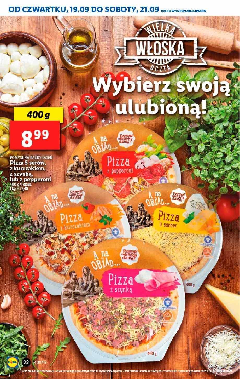 Gazetka promocyjna Lidl do 22/09/2019 str.21