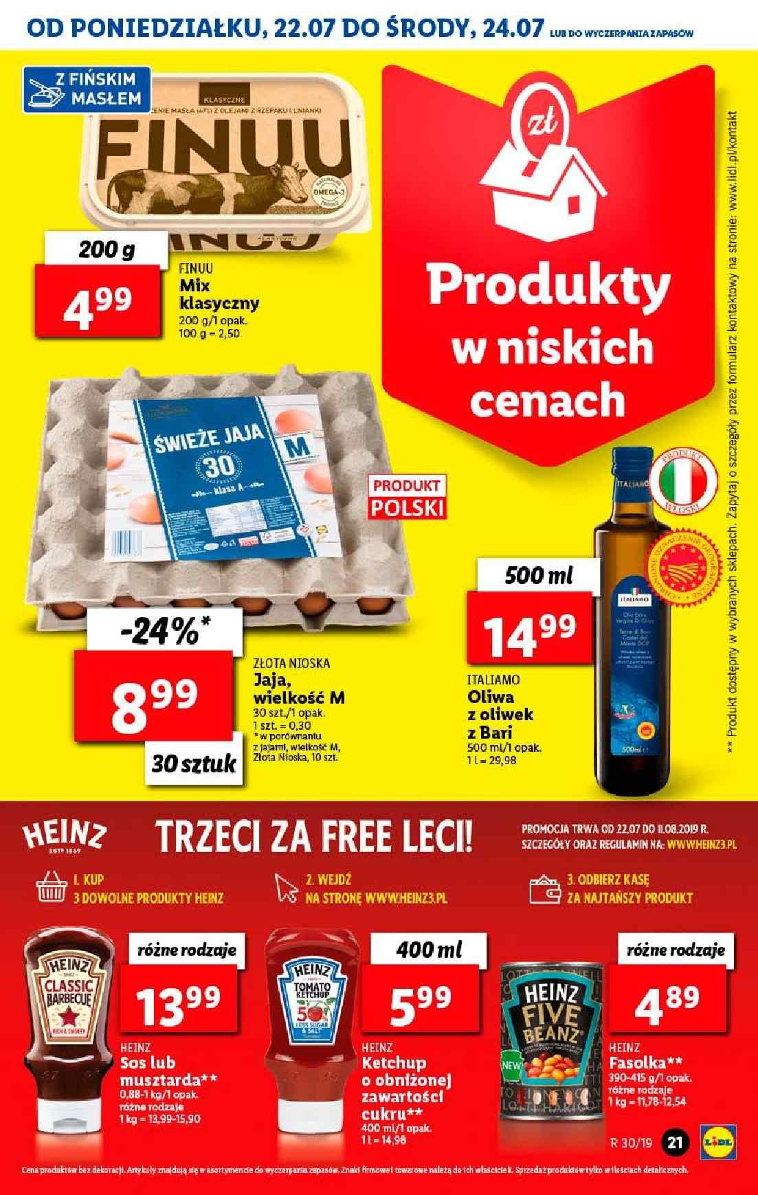 Gazetka promocyjna Lidl do 24/07/2019 str.21