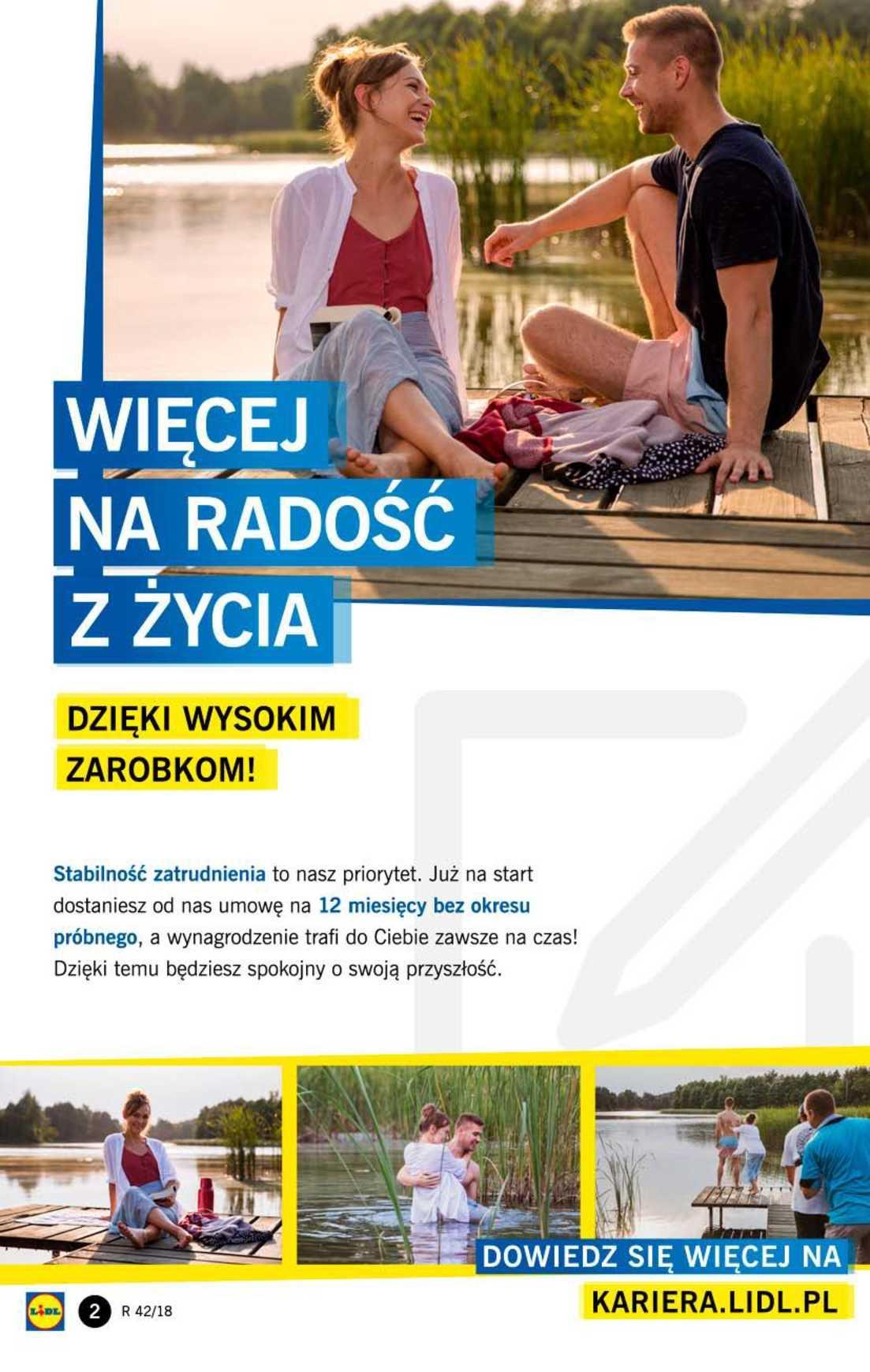 Gazetka promocyjna Lidl do 20/10/2018 str.2