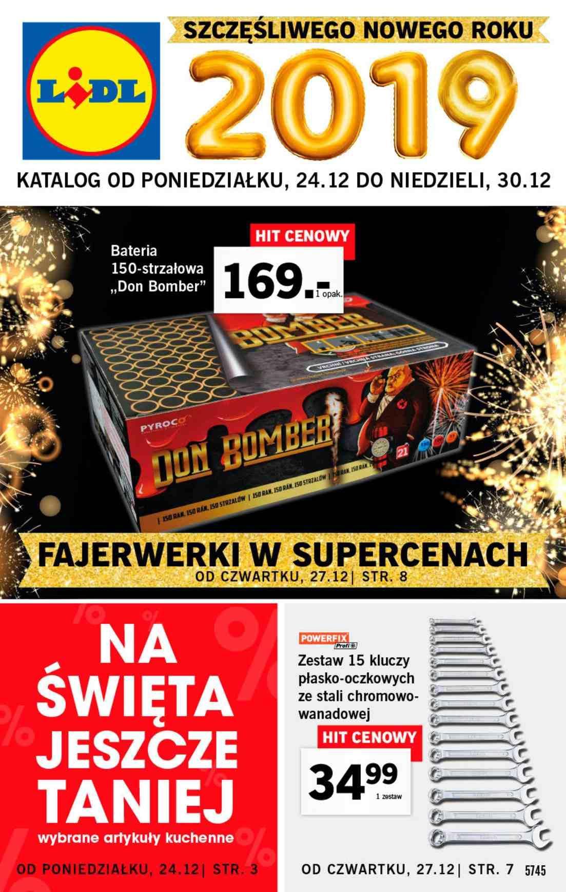 Gazetka promocyjna Lidl do 30/12/2018 str.1
