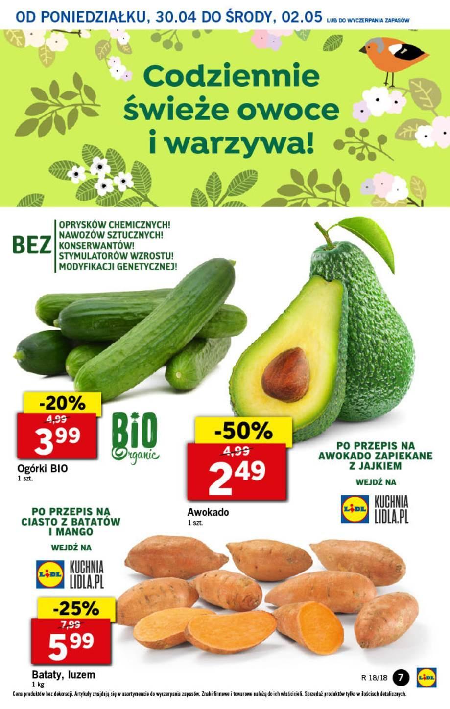 Gazetka promocyjna Lidl do 02/05/2018 str.6