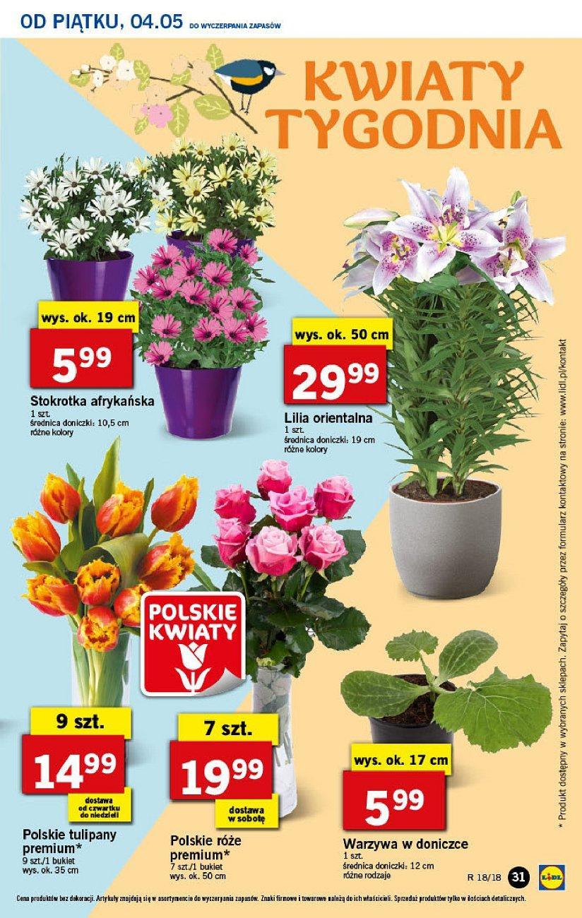 Gazetka promocyjna Lidl do 06/05/2018 str.30