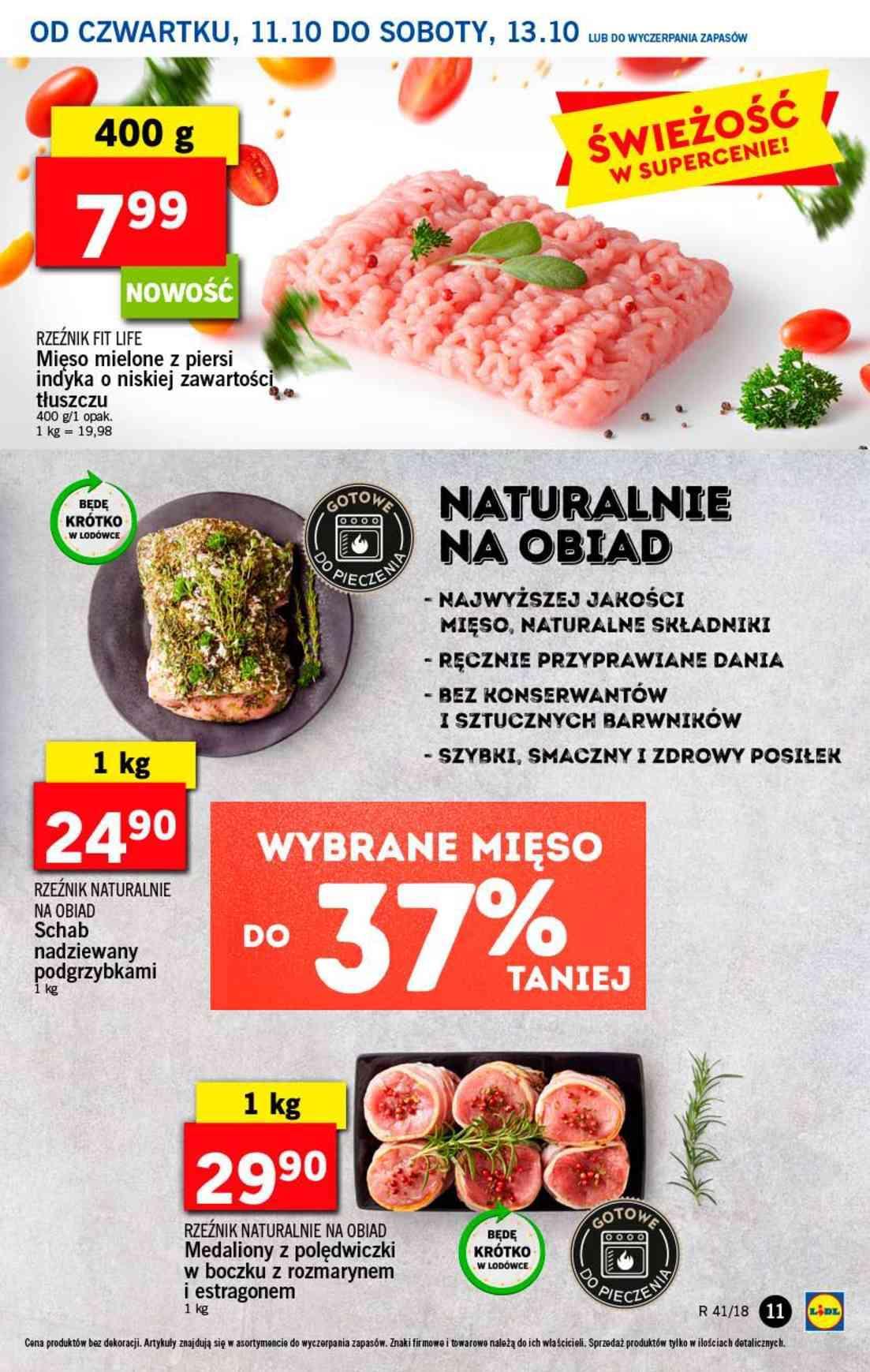 Gazetka promocyjna Lidl do 13/10/2018 str.10