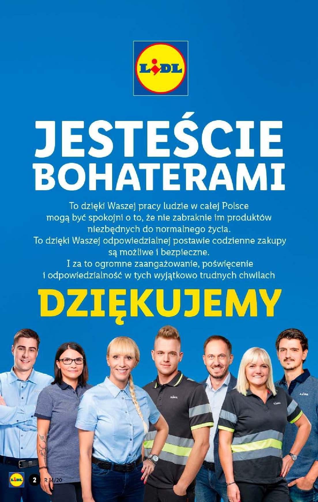 Gazetka promocyjna Lidl do 01/04/2020 str.2