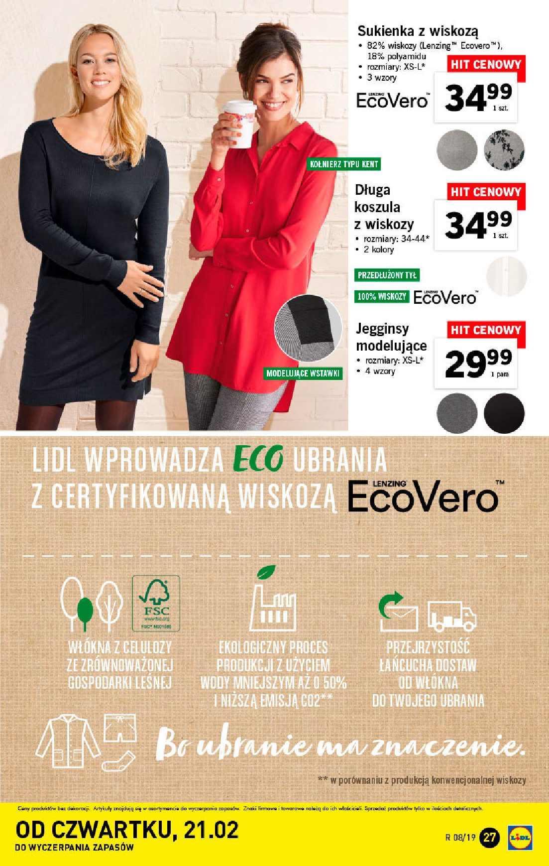 Gazetka promocyjna Lidl do 24/02/2019 str.27