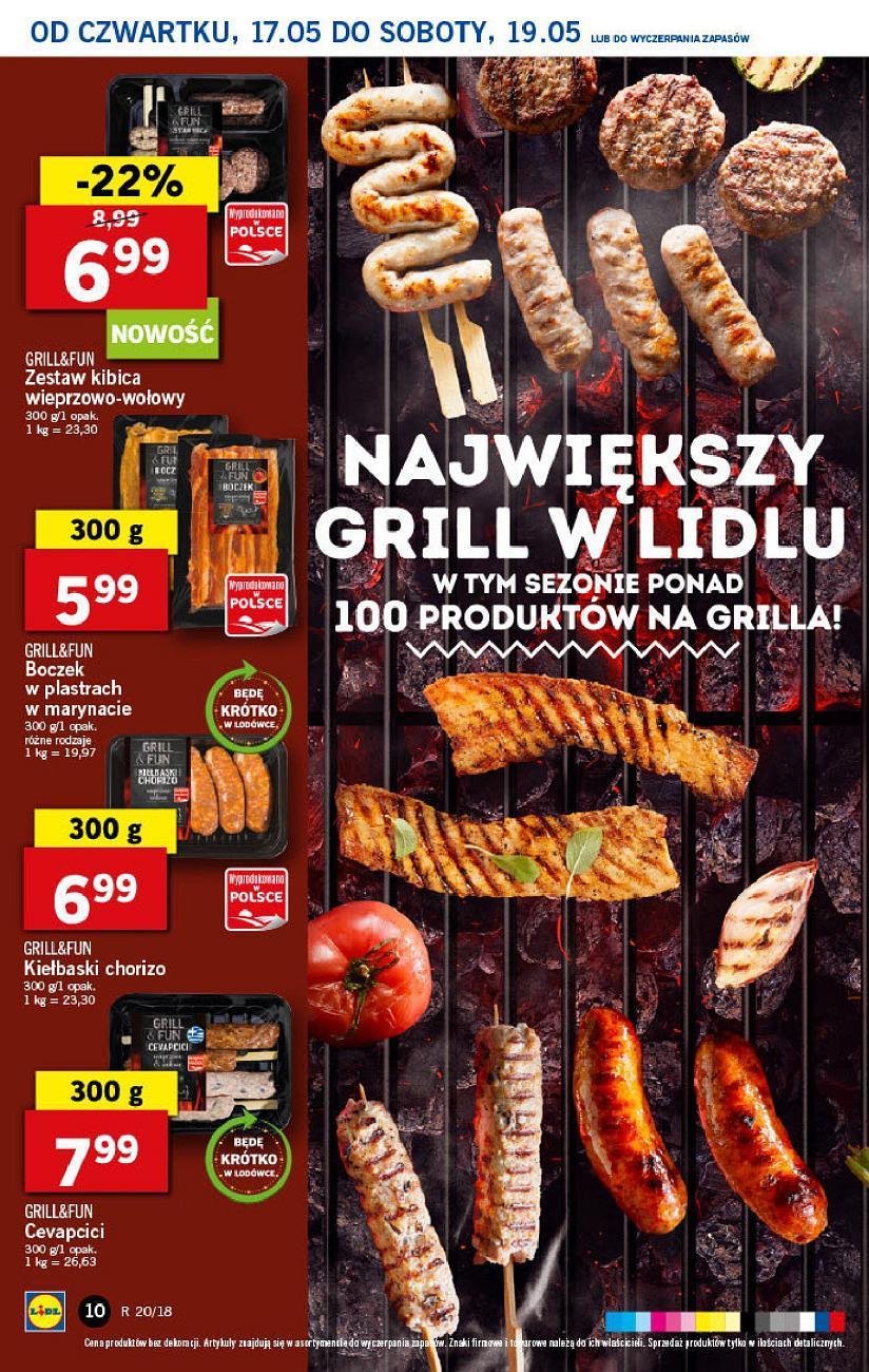 Gazetka promocyjna Lidl do 19/05/2018 str.9