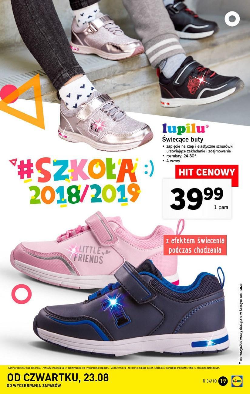 Gazetka promocyjna Lidl do 26/08/2018 str.19