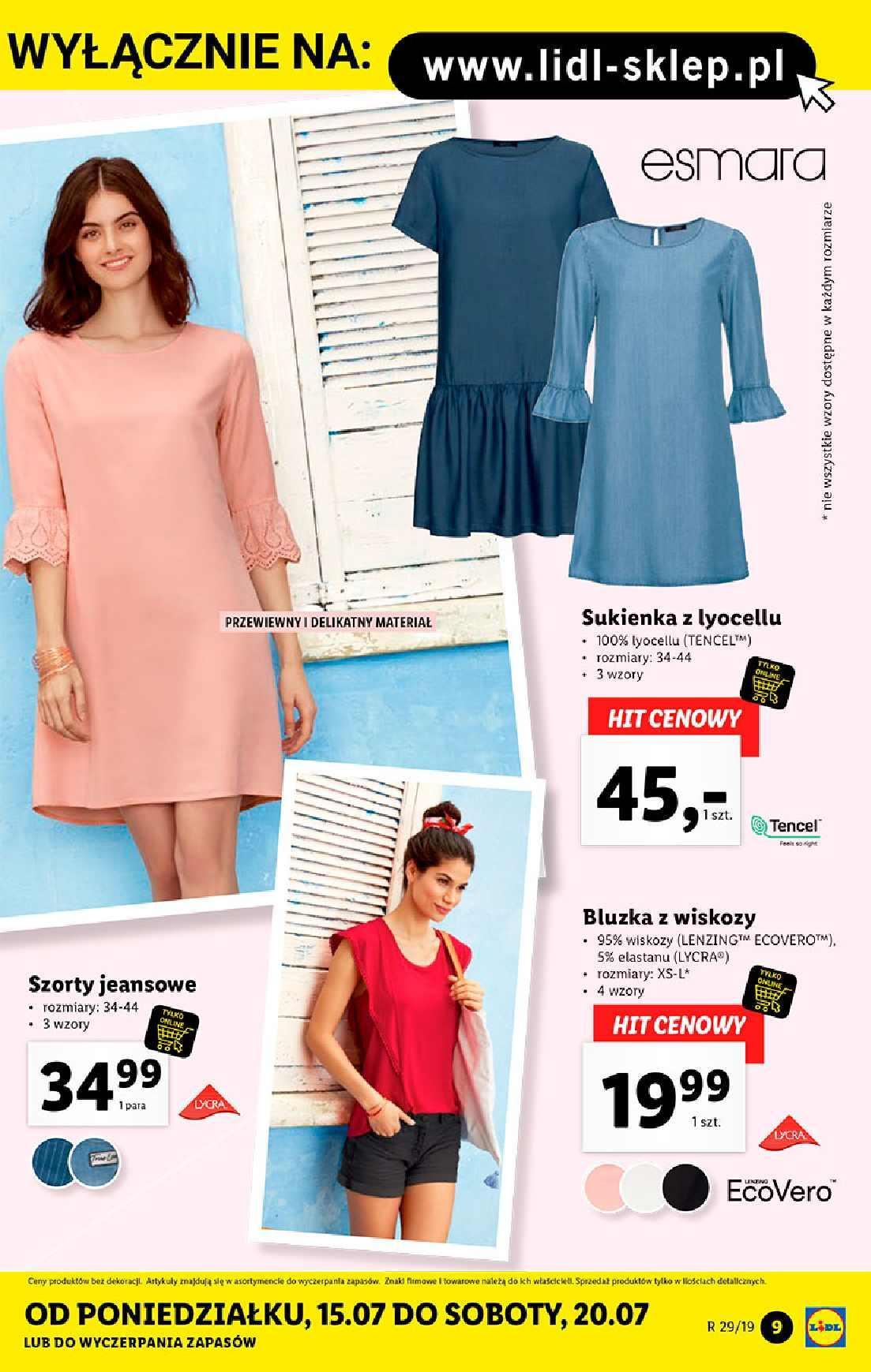 Gazetka promocyjna Lidl do 21/07/2019 str.9
