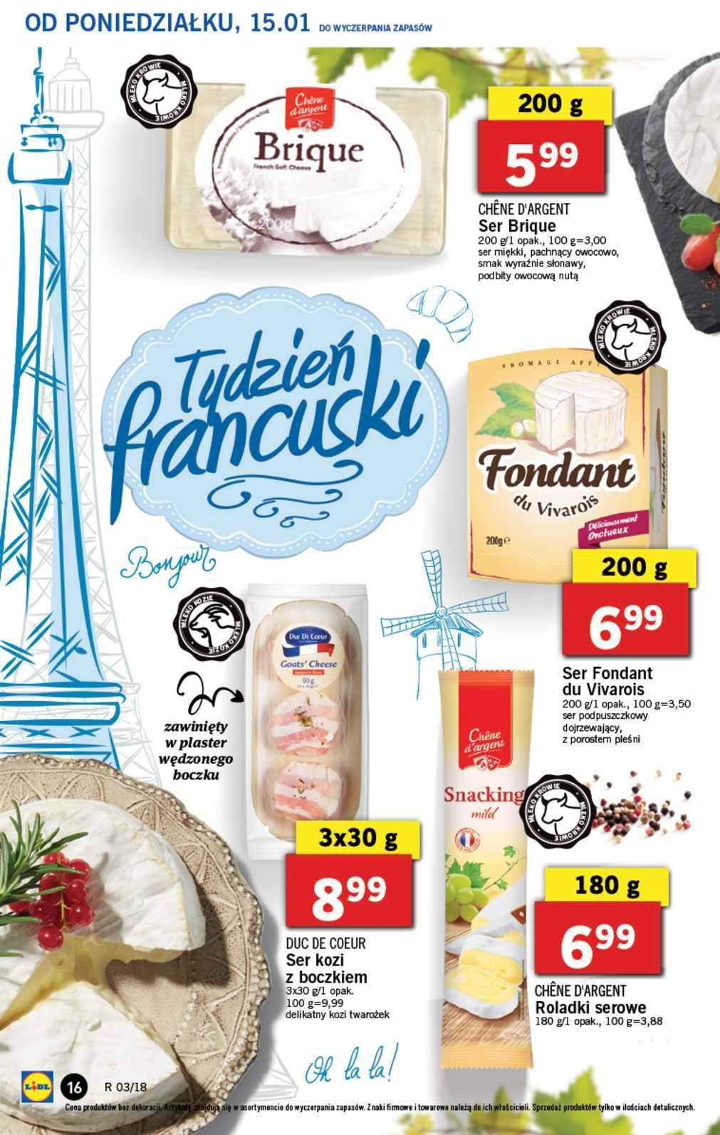 Gazetka promocyjna Lidl do 17/01/2018 str.15