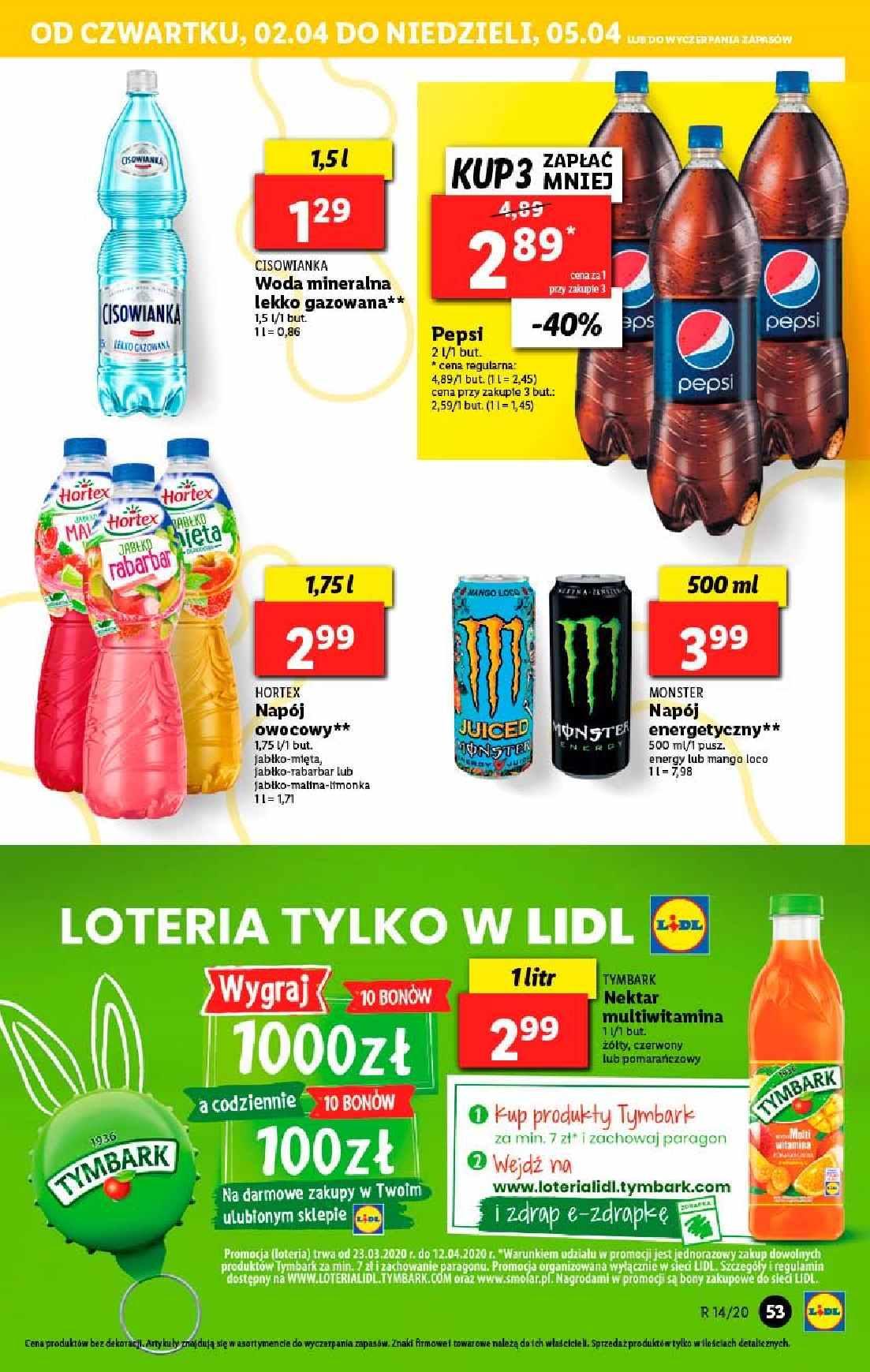 Gazetka promocyjna Lidl do 05/04/2020 str.53