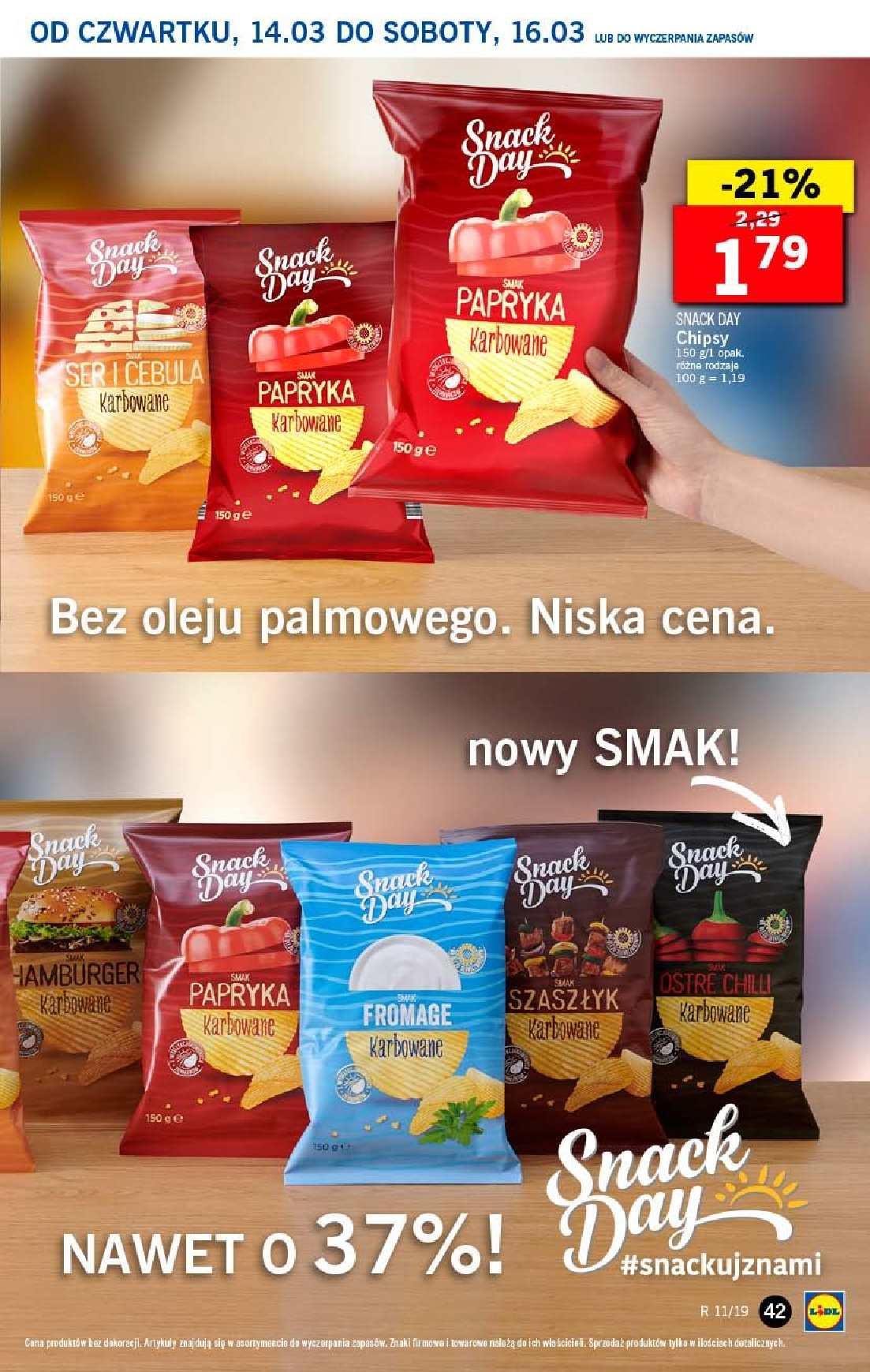 Gazetka promocyjna Lidl do 17/03/2019 str.42
