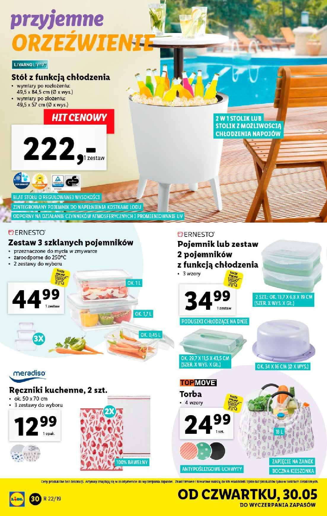 Gazetka promocyjna Lidl do 02/06/2019 str.30
