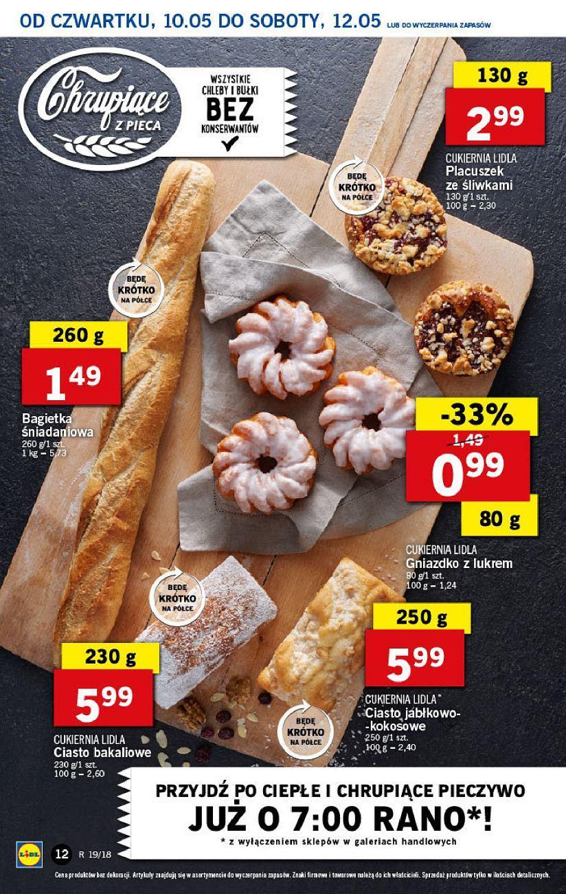 Gazetka promocyjna Lidl do 12/05/2018 str.11