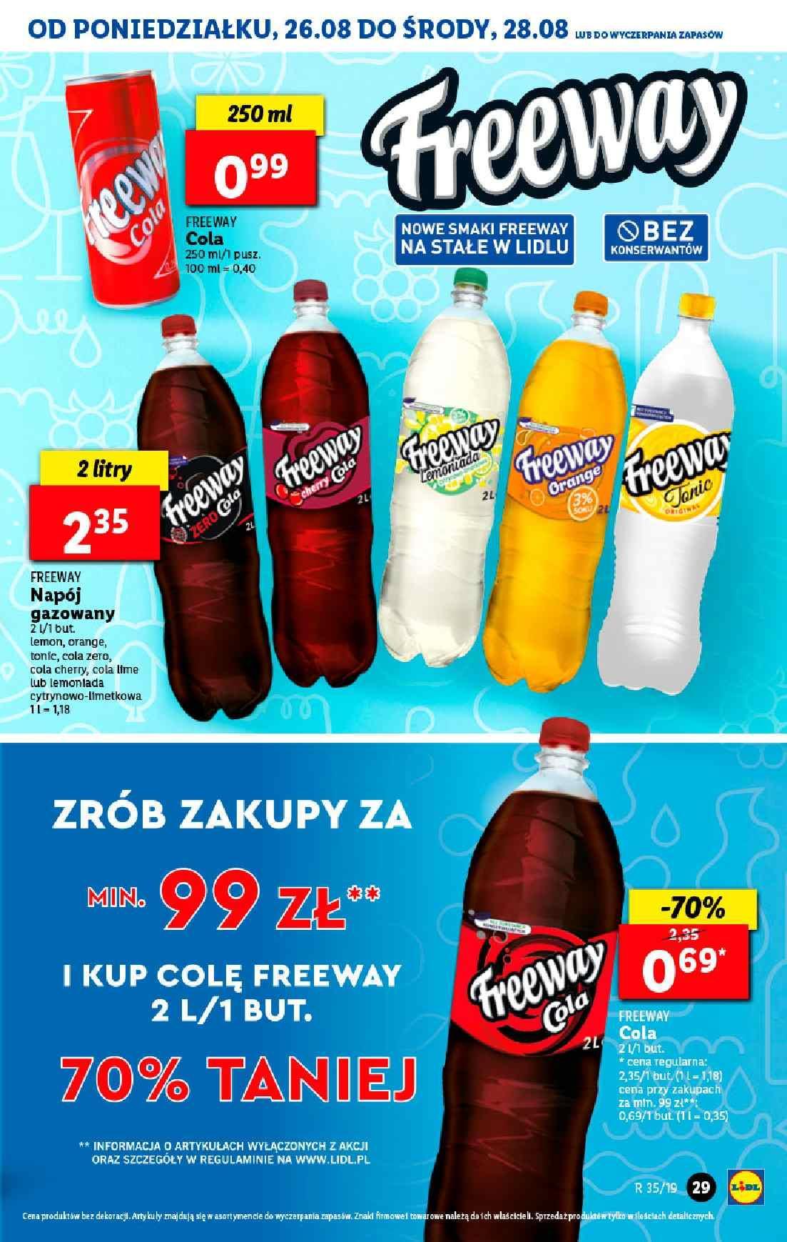 Gazetka promocyjna Lidl do 28/08/2019 str.29