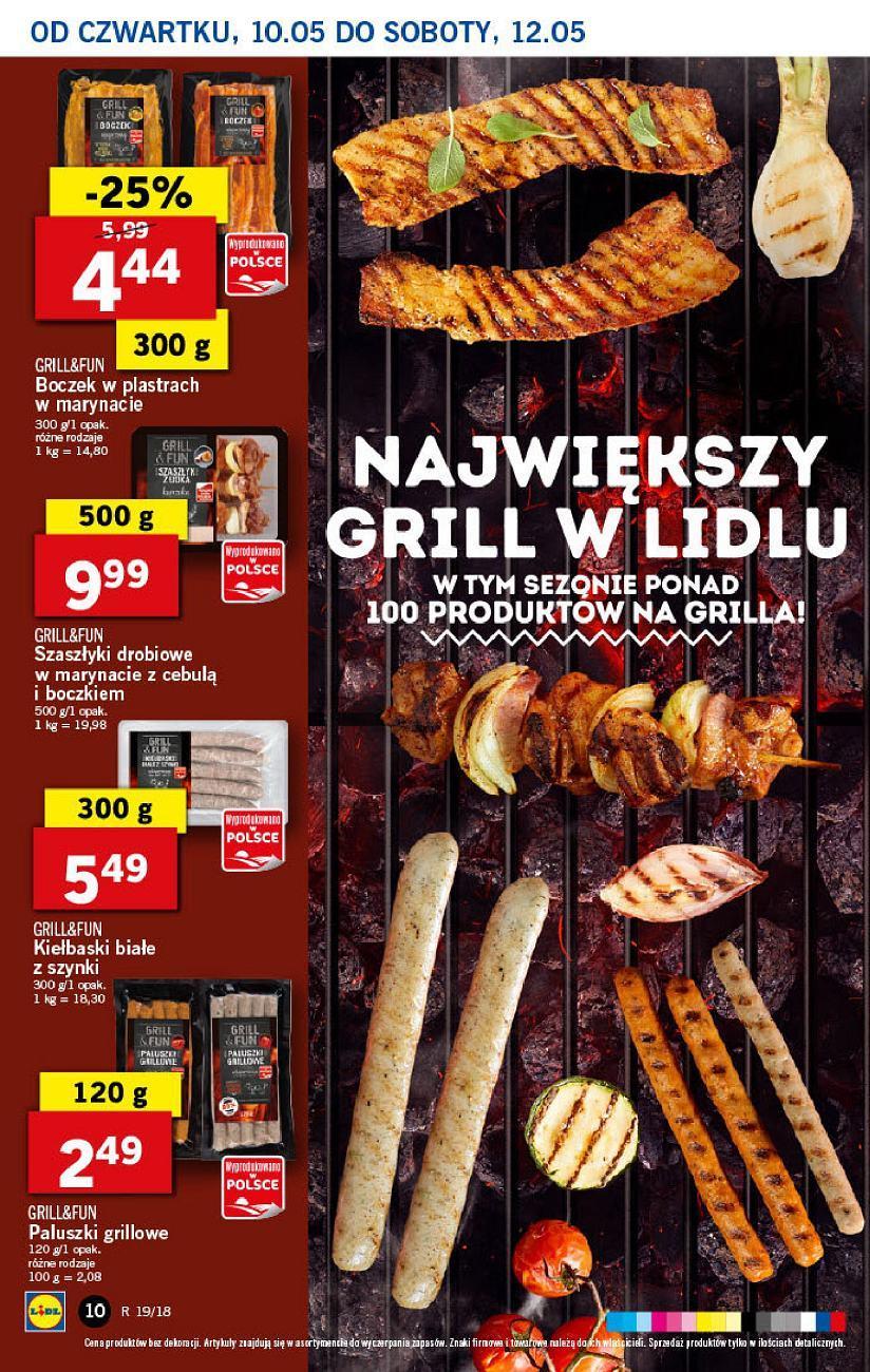 Gazetka promocyjna Lidl do 12/05/2018 str.9