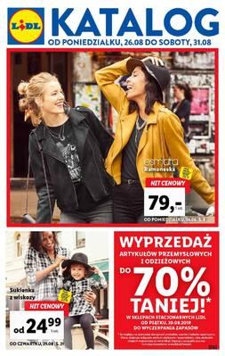Lidl gazetka - od 26/08/2019 do 31/08/2019