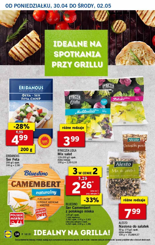 Gazetka promocyjna Lidl do 02/05/2018 str.13