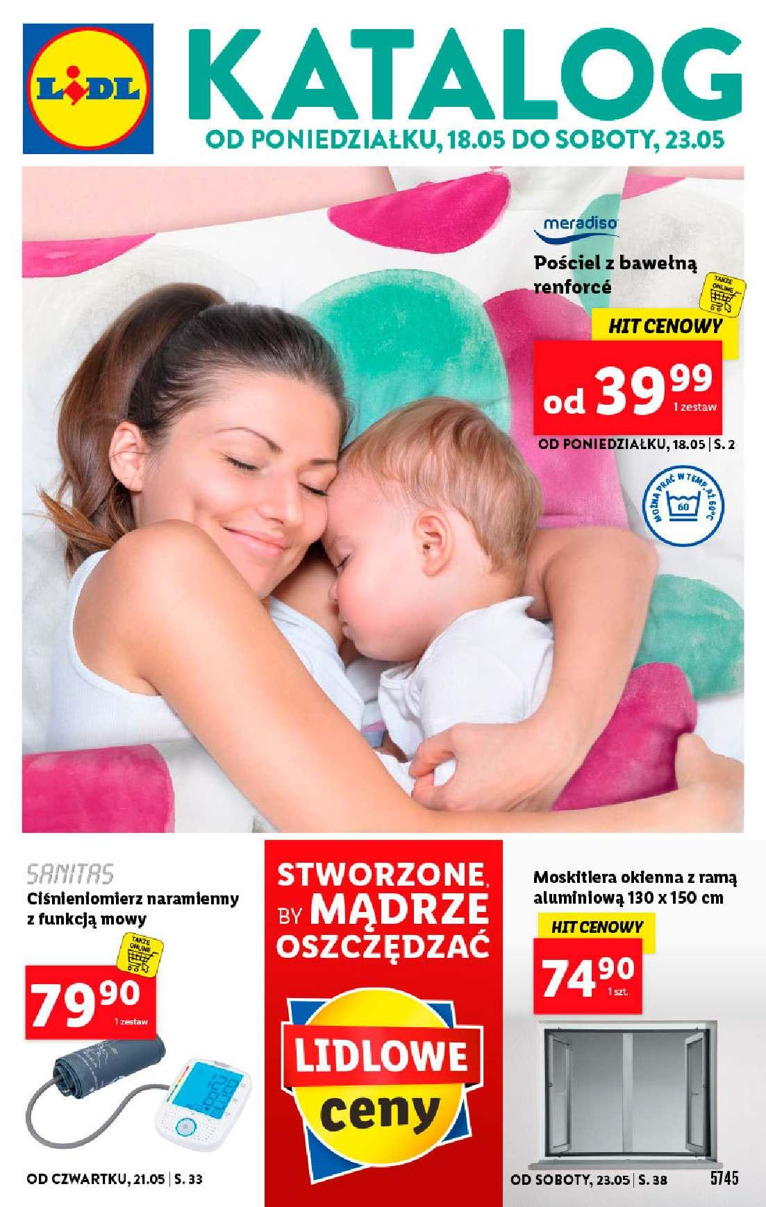 Gazetka promocyjna Lidl do 23/05/2020 str.1