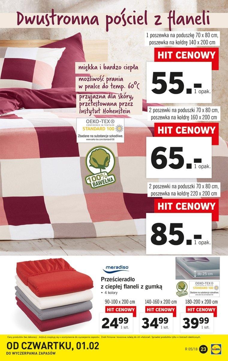 Gazetka Promocyjna I Reklamowa Lidl Od 29012018 Do 04022018