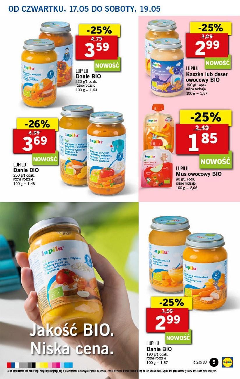 Gazetka promocyjna Lidl do 19/05/2018 str.4