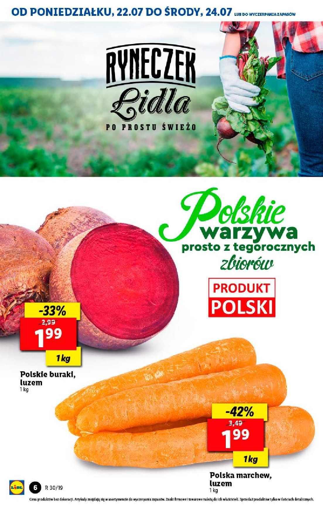 Gazetka promocyjna Lidl do 24/07/2019 str.6