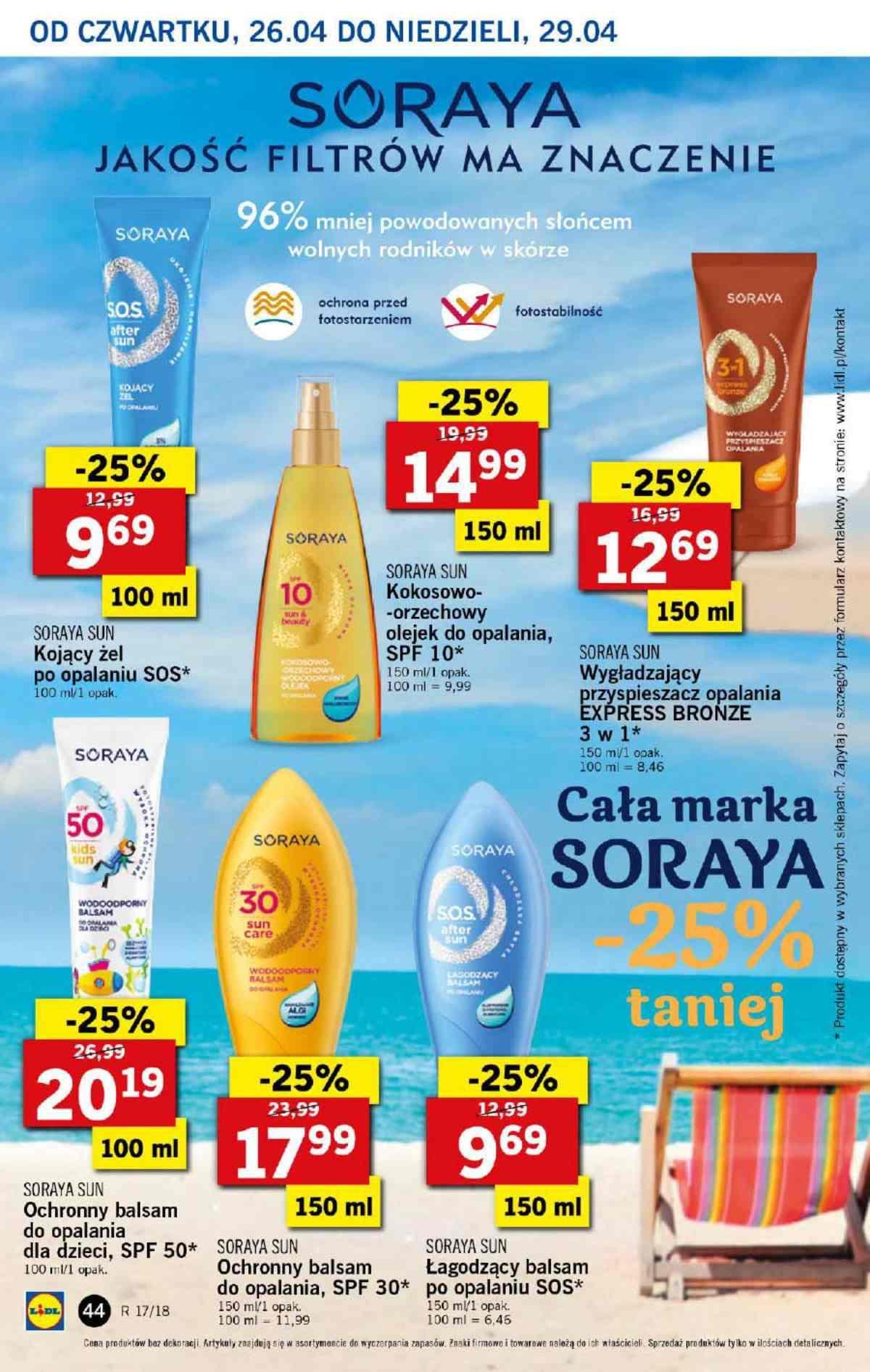 Gazetka promocyjna Lidl do 29/04/2018 str.43