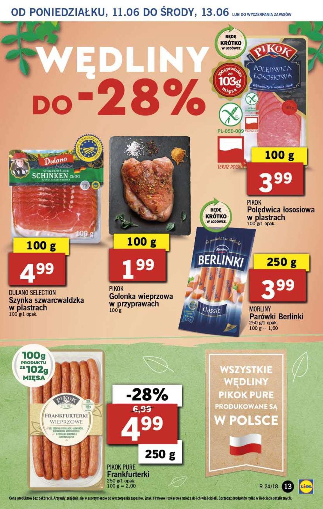 Gazetka promocyjna Lidl do 13/06/2018 str.12