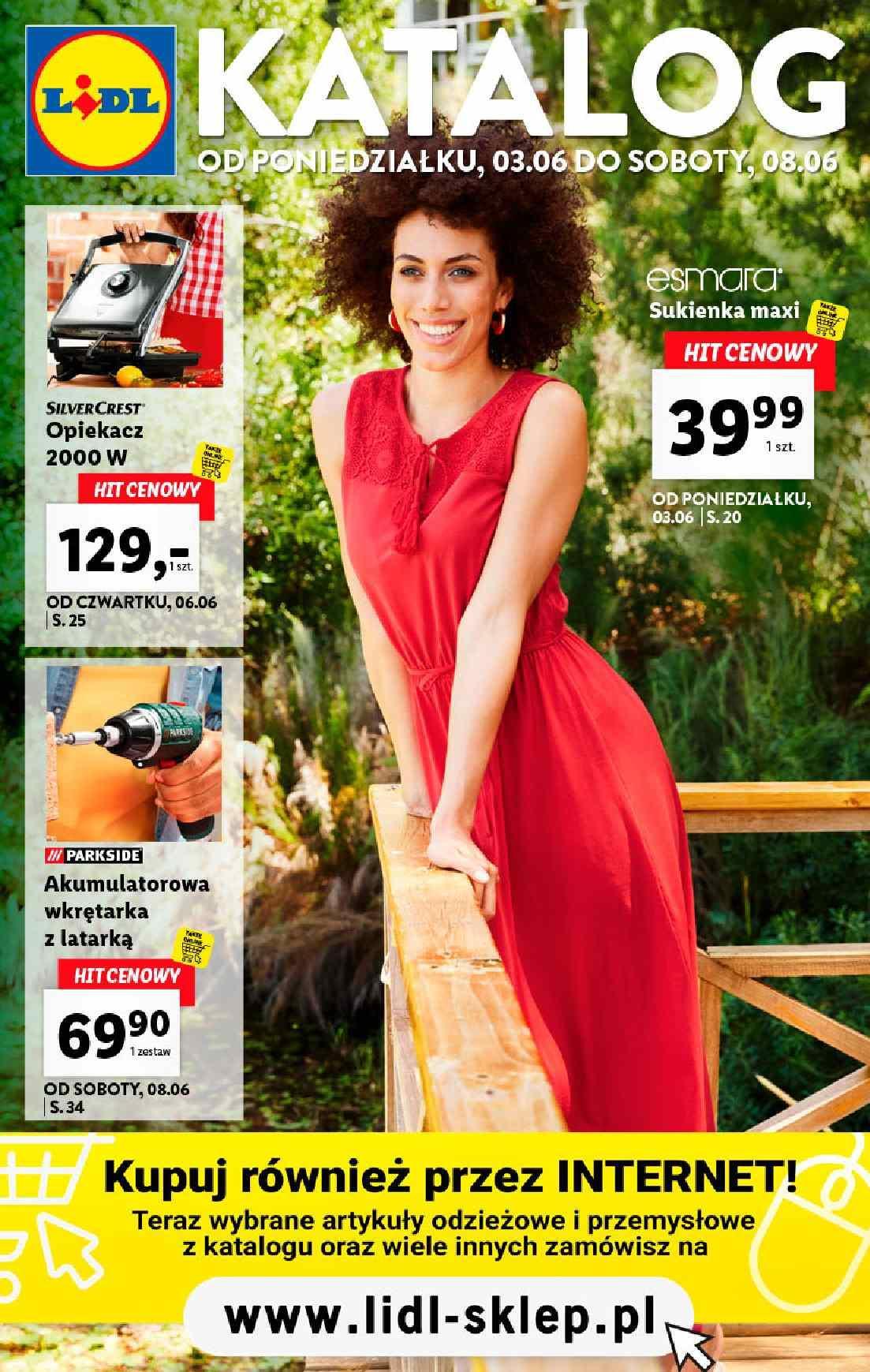 Gazetka promocyjna Lidl do 08/06/2019 str.1